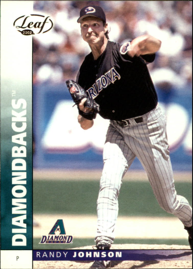 2002 Leaf #7 Randy Johnson