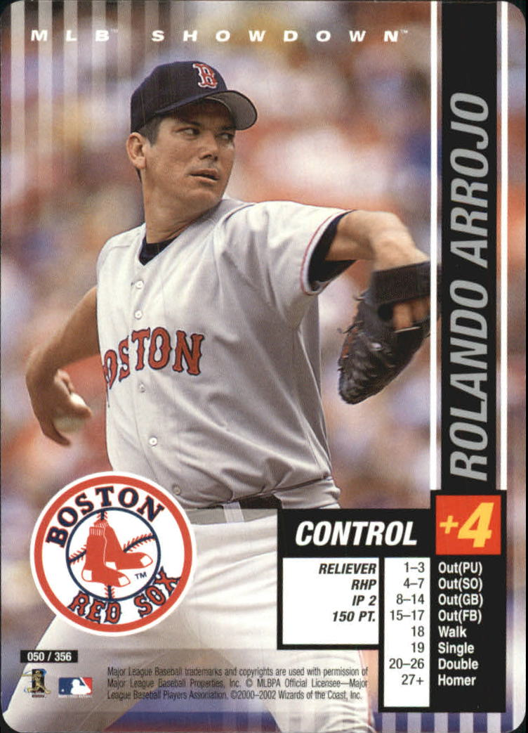 2002 MLB Showdown #50 Rolando Arrojo