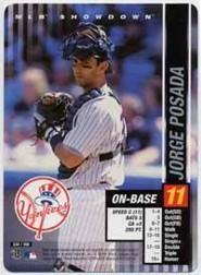 2002 MLB Showdown #232 Jorge Posada