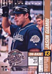 2002 MLB Showdown All-Star Game #8 Jason Giambi