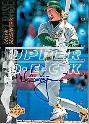 2002 Upper Deck 40-Man Mark McGwire Autograph Buybacks #9 Mark McGwire 94/6