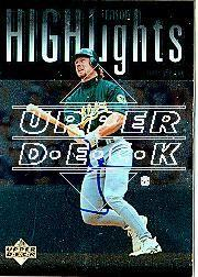 2002 Upper Deck 40-Man Mark McGwire Autograph Buybacks #16 Mark McGwire 97 SH CL/6