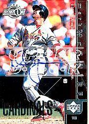 2002 Upper Deck 40-Man Mark McGwire Autograph Buybacks #21 Mark McGwire 98 UE/2