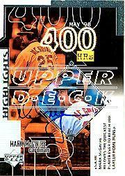 2002 Upper Deck 40-Man Mark McGwire Autograph Buybacks #24 Mark McGwire 99 SH CL1/6