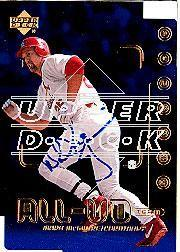 2002 Upper Deck 40-Man Mark McGwire Autograph Buybacks #32 Mark McGwire 00 AUT/2