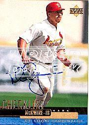 2002 Upper Deck 40-Man Mark McGwire Autograph Buybacks #33 Mark McGwire 00 CL/6