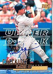 2002 Upper Deck 40-Man Mark McGwire Autograph Buybacks #34 Mark McGwire 00 SH CL/6