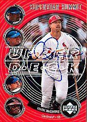 2002 Upper Deck 40-Man Mark McGwire Autograph Buybacks #44 Mark McGwire 02 SS2/1