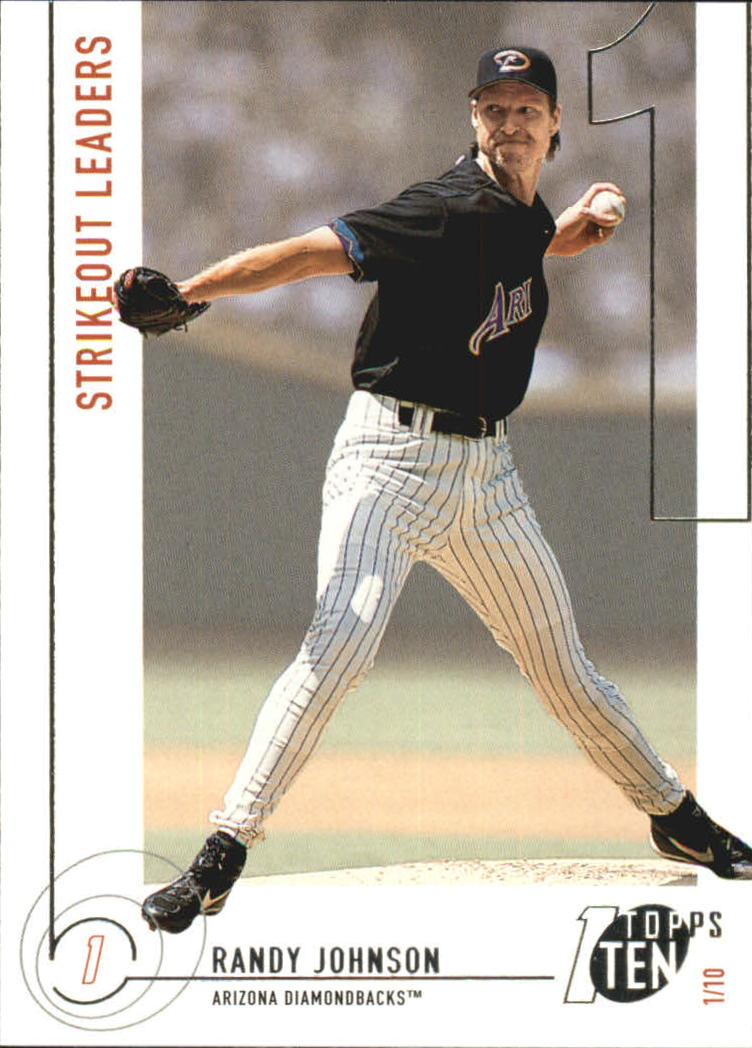 2002 Topps Ten #151 Randy Johnson K