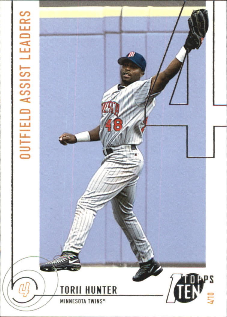 2002 Topps Ten #176 Torii Hunter AST