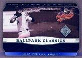 2002 Fleer Authentix Ballpark Classics #11 Nolan Ryan