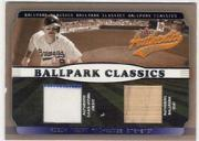 2002 Fleer Authentix Ballpark Classics Memorabilia #RY Robin Yount Jsy SP/83