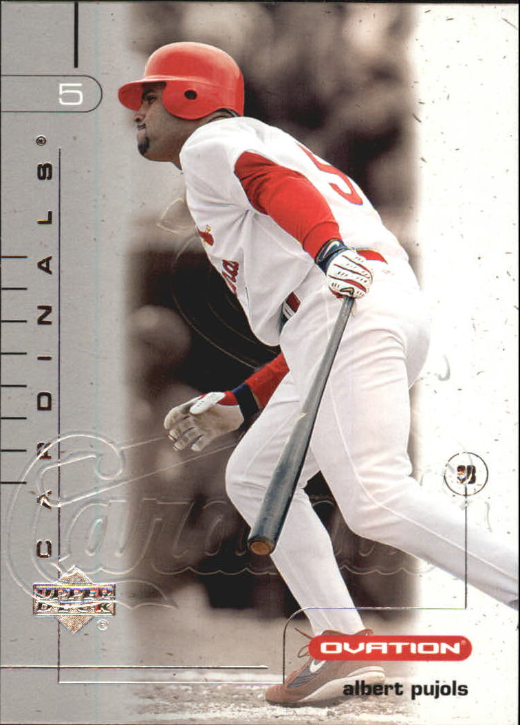 2002 Upper Deck Ovation Silver #35 Albert Pujols