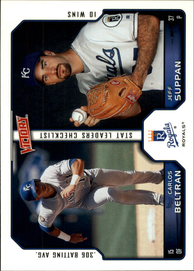 2002 Upper Deck Victory #167 C.Beltran/J.Suppan