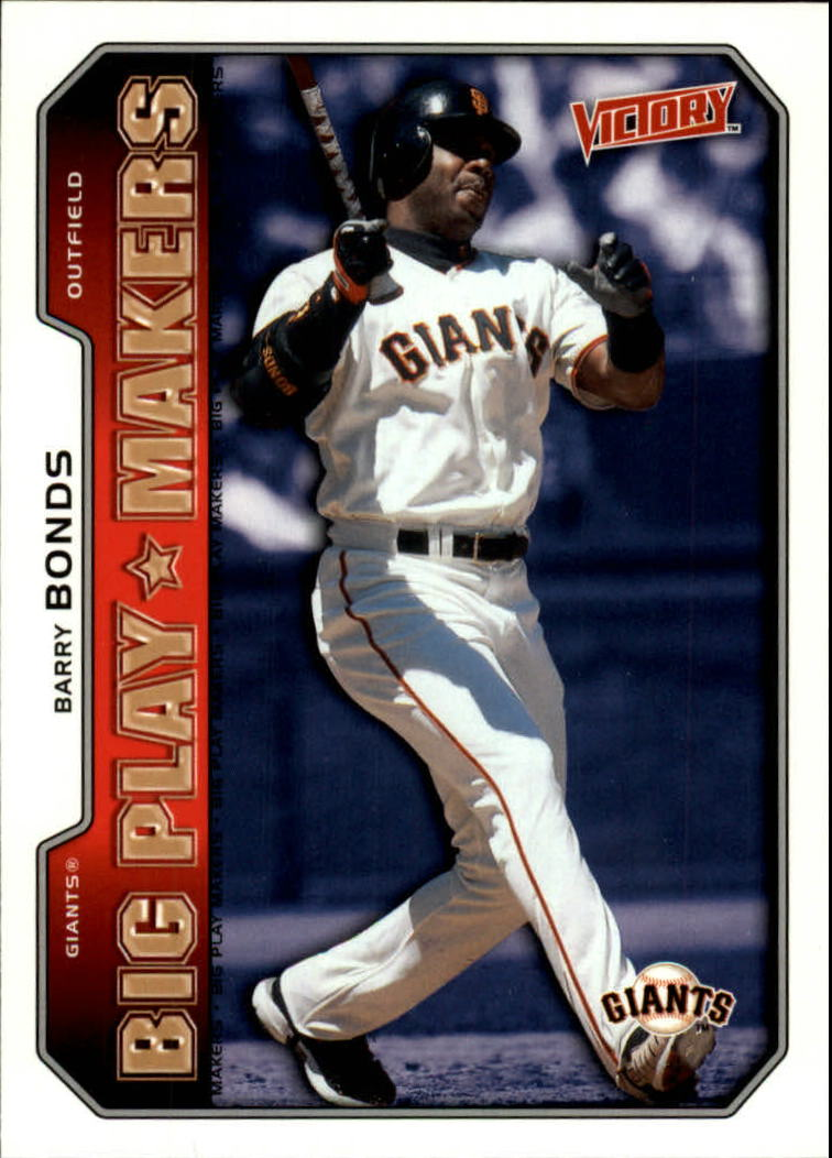 2002 Upper Deck Victory #549 Barry Bonds BPM