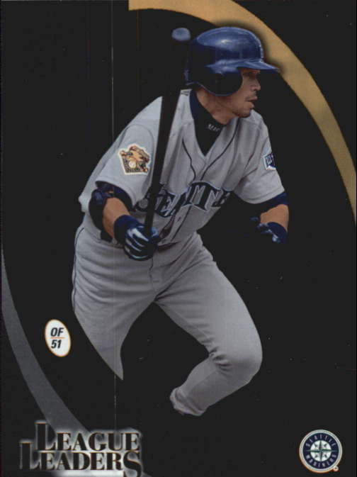 2002 Donruss Best of Fan Club League Leaders #LL43 Ichiro Suzuki Avg/300