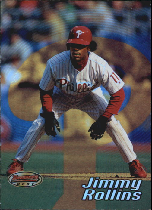 2002 Bowman's Best #11 Jimmy Rollins