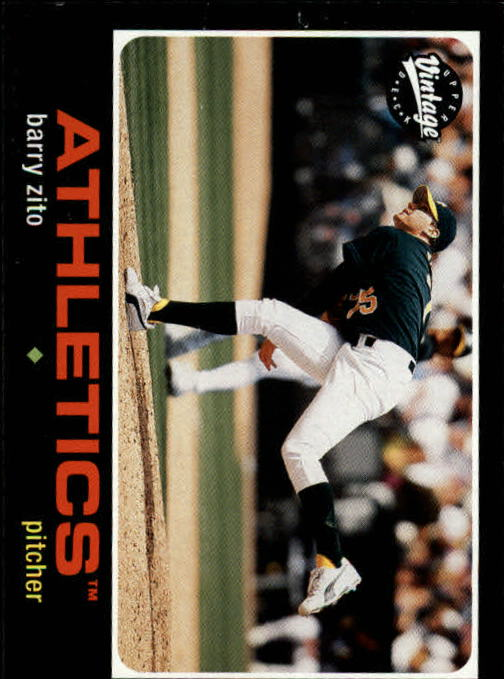 2002 Upper Deck Vintage #16 Barry Zito