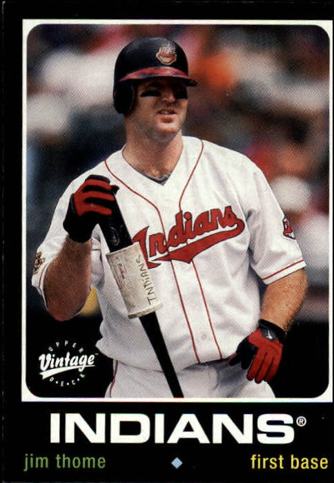 2002 Upper Deck Vintage #40 Jim Thome