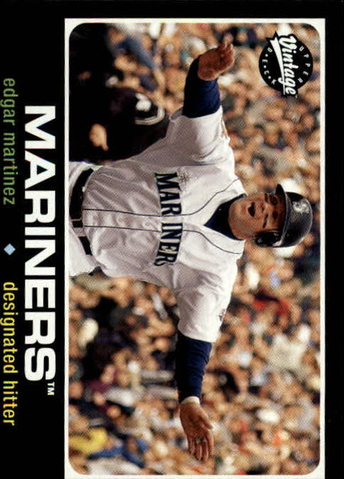 2002 Upper Deck Vintage #45 Edgar Martinez