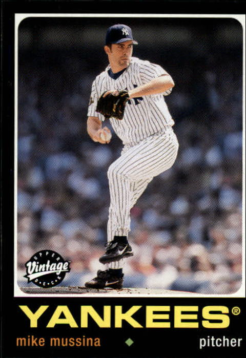 2002 Upper Deck Vintage #124 Mike Mussina