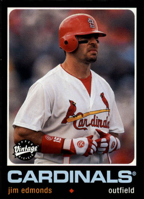 2002 Upper Deck Vintage #158 Jim Edmonds