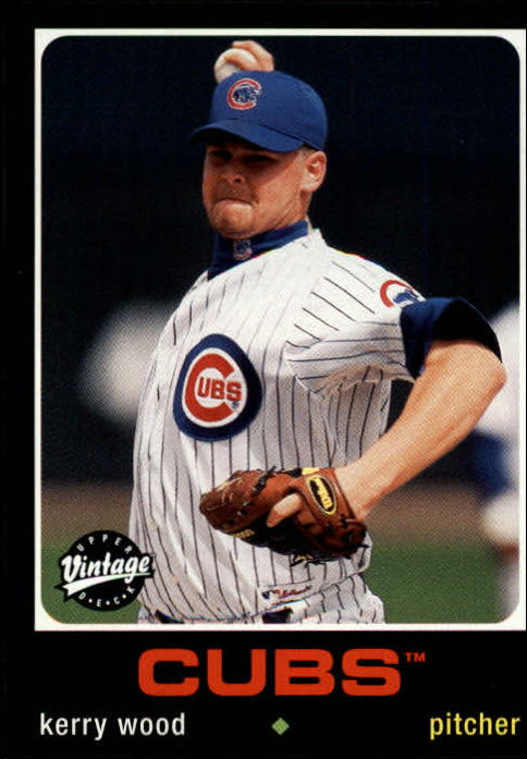 2002 Upper Deck Vintage #166 Kerry Wood