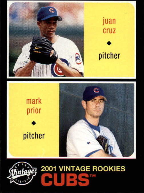 2002 Upper Deck Vintage #170 J.Cruz/M.Prior