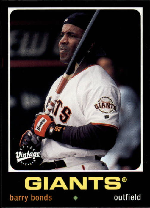 2002 Upper Deck Vintage #199 Barry Bonds front image