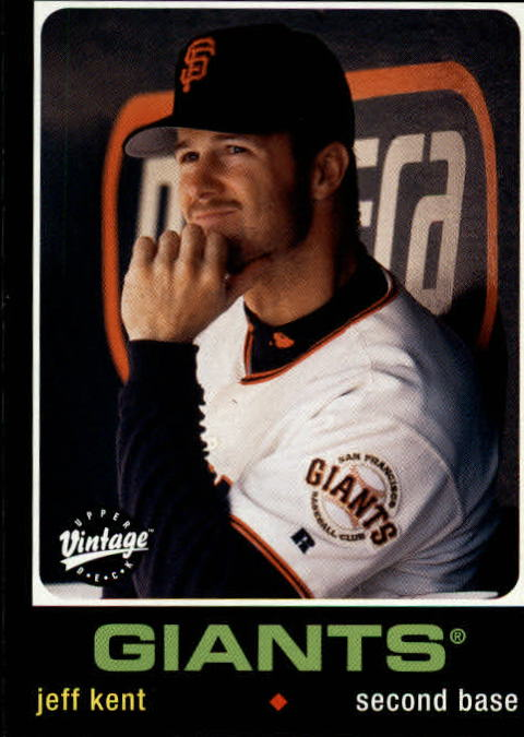 2002 Upper Deck Vintage #202 Jeff Kent