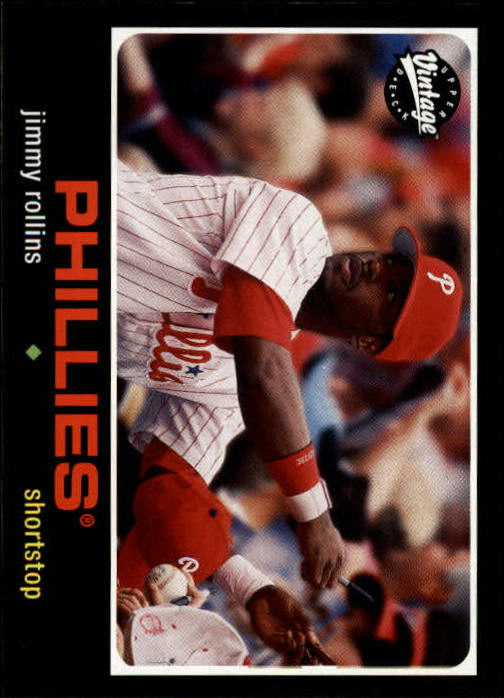 2002 Upper Deck Vintage #236 Jimmy Rollins