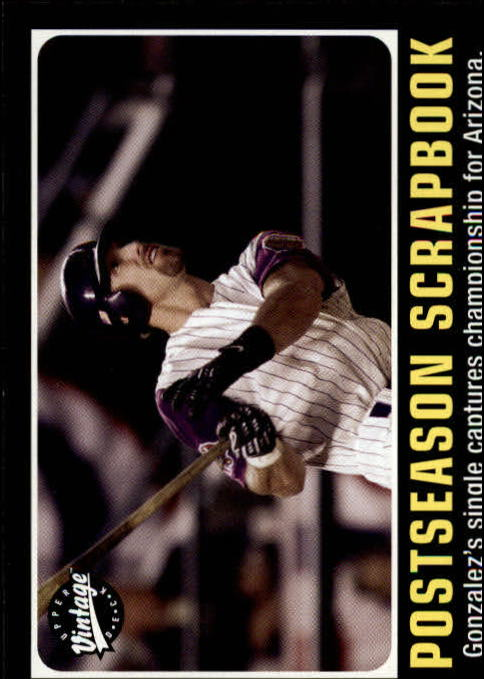 2002 Upper Deck Vintage #300 Luis Gonzalez PS