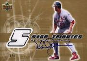 2002 Upper Deck Rookie Update Star Tributes Signatures Gold #MM Mark McGwire