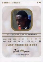 2002-03 Just Rookies #14 Dontrelle Willis