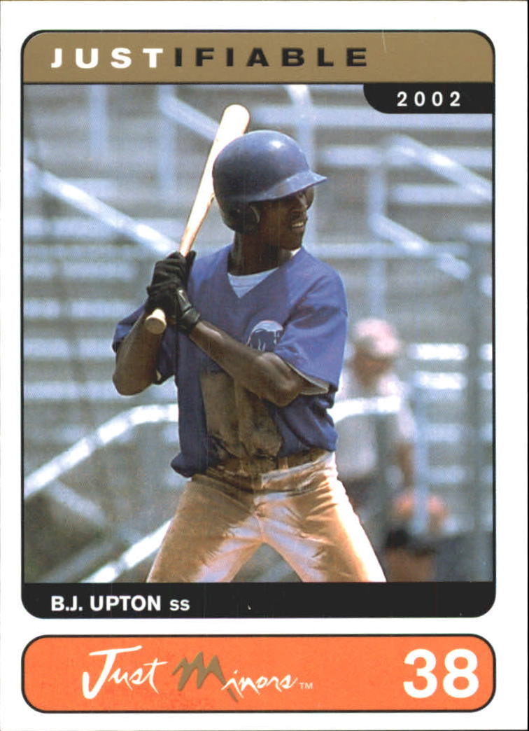2002-03 Justifiable #38 B.J. Upton