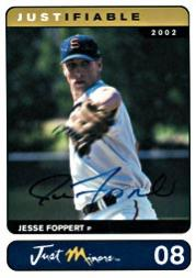 2002-03 Justifiable Autographs #8 Jesse Foppert/400