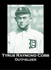 2002-05 Ty Cobb Museum #4 Ty Cobb 2005/100th Anniversary of Tigers debut