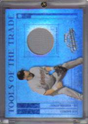 2003 Absolute Memorabilia Tools of the Trade Materials Spectrum #38 Jeff Bagwell Pants/50