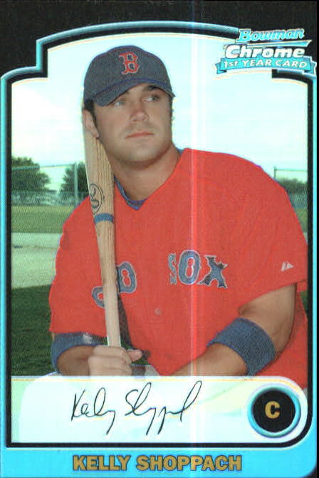 2003 Bowman Chrome Refractors #288 Kelly Shoppach