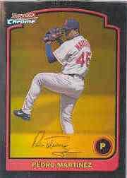 2003 Bowman Chrome Gold Refractors #109 Pedro Martinez