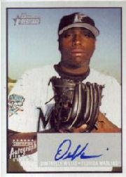 2003 Bowman Heritage Signs of Greatness #DW Dontrelle Willis