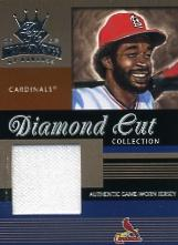 2003 Diamond Kings Diamond Cut Collection #27 Ozzie Smith Jsy/400