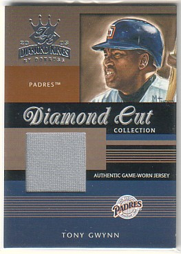 2003 Diamond Kings Diamond Cut Collection #34 Tony Gwynn Jsy/400
