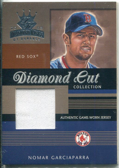 2003 Diamond Kings Diamond Cut Collection #41 Nomar Garciaparra Jsy/350
