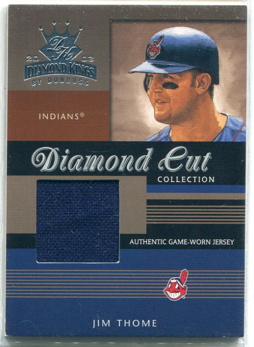 2003 Diamond Kings Diamond Cut Collection #45 Jim Thome Jsy/500