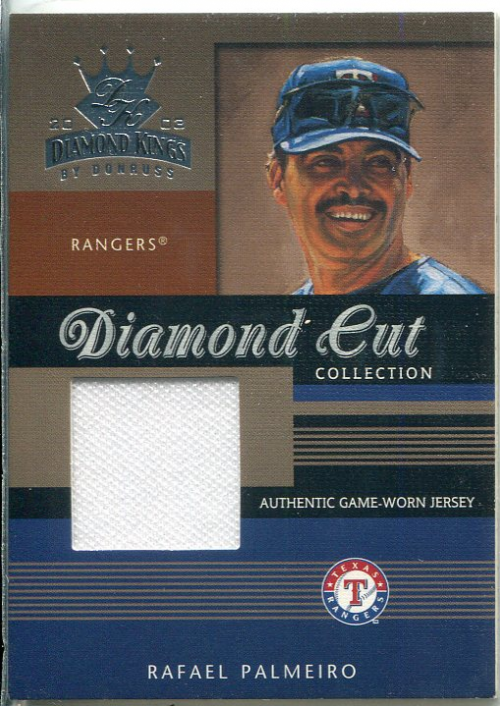 2003 Diamond Kings Diamond Cut Collection #55 Rafael Palmeiro Jsy/500