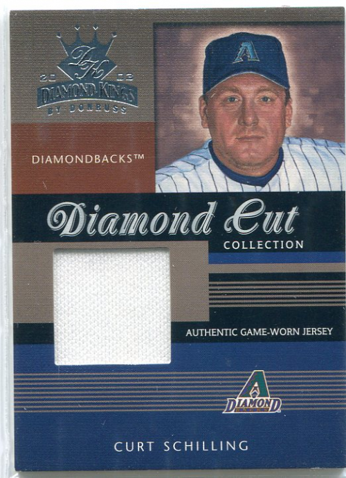 2003 Diamond Kings Diamond Cut Collection #56 Curt Schilling Jsy/500