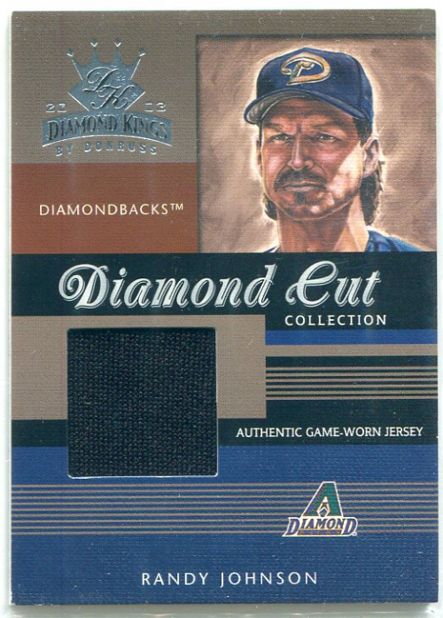 2003 Diamond Kings Diamond Cut Collection #57 Randy Johnson Jsy/400