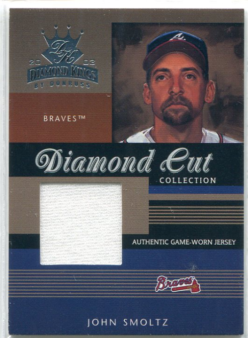 2003 Diamond Kings Diamond Cut Collection #59 John Smoltz Jsy/400