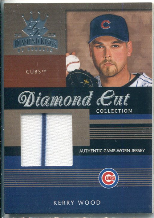 2003 Diamond Kings Diamond Cut Collection #62 Kerry Wood Jsy/500